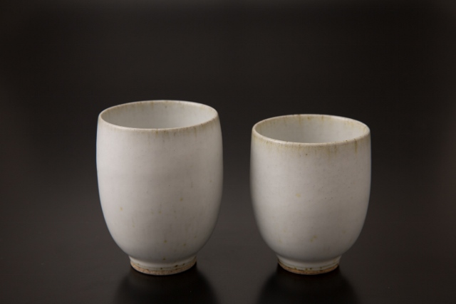 Japanese traditional white glaze
